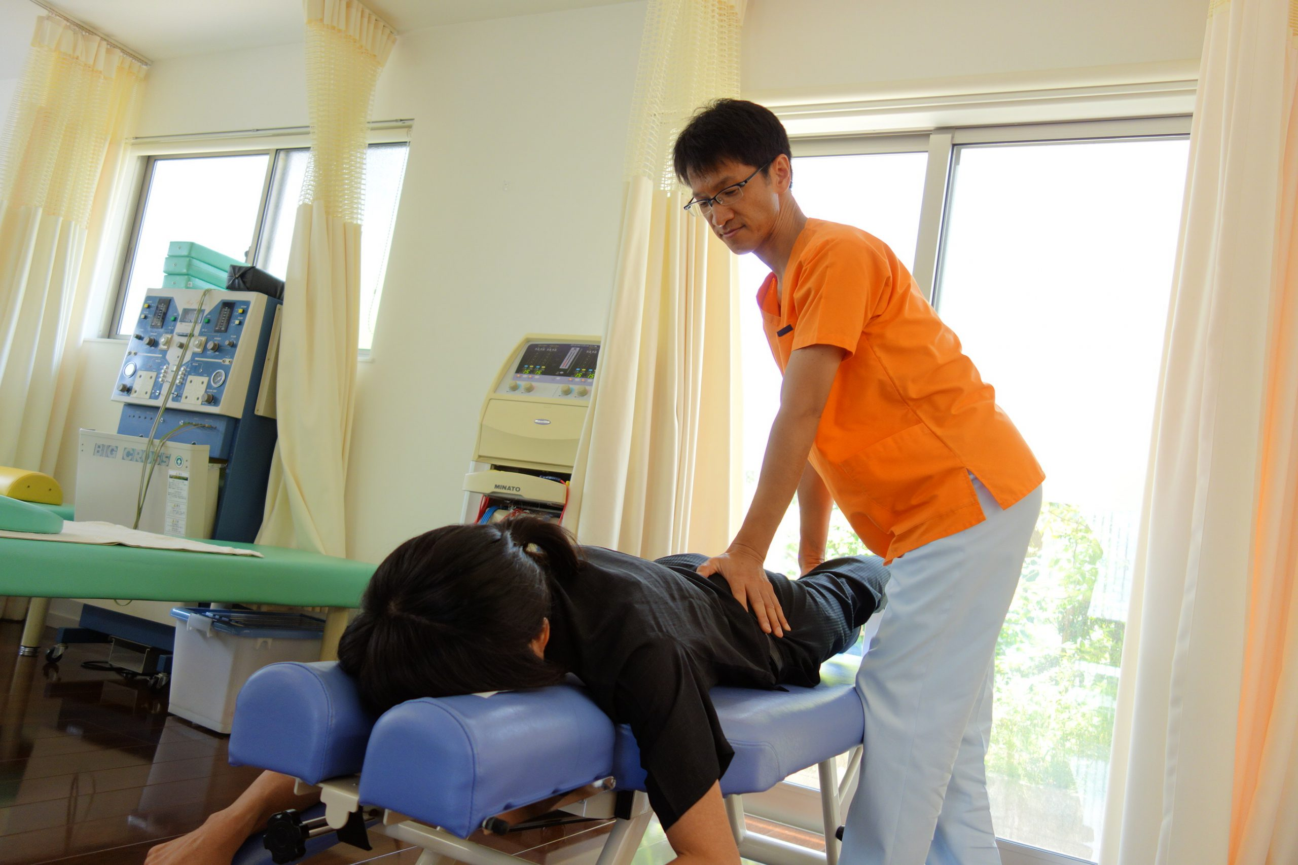 椎間板ヘルニアの治療